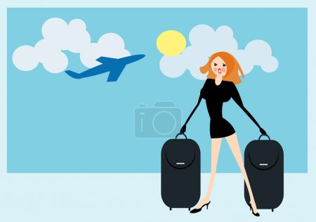 Illustration for Vector image of travel concept - Royalty Free Image