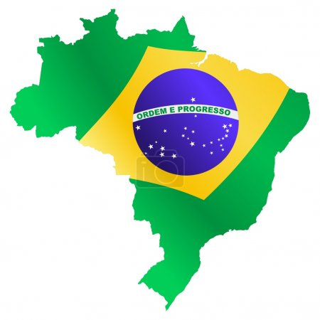 National colors of Brazil