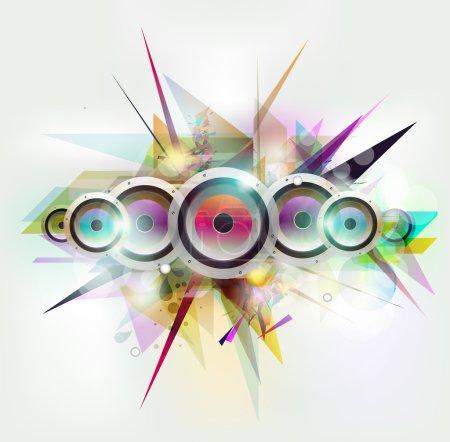 Musical grange vector