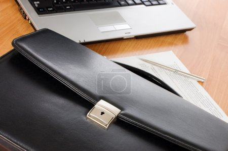 Black portfolio and the computer