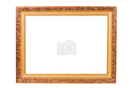 Foto de Marco aislado sobre el fondo blanco - Imagen libre de derechos