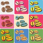 Coffee-beans-pop-art