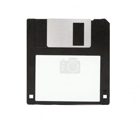 Floppy disk isolated on white background...
