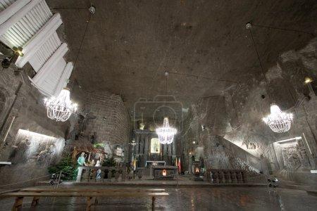 Photo for Hall in Wieliczka salt mine. Poland - Royalty Free Image