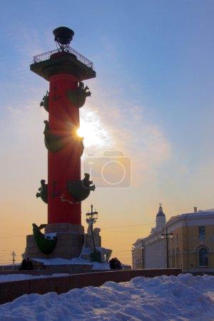 View of Saint-petersburg`s column
