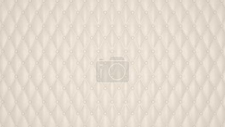 modèle de luxe beige cuir boutonné