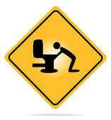 Warnung, Kater Zeichen