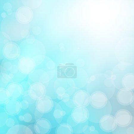 Photo pour Fond bleu abstrait - image libre de droit