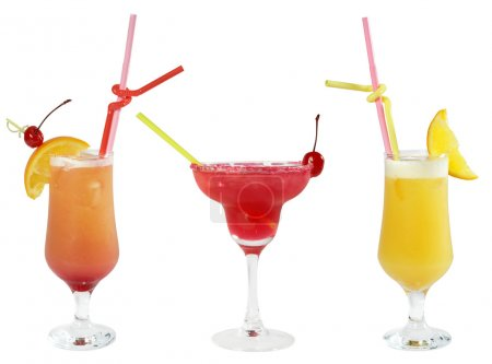 Three cocktails
