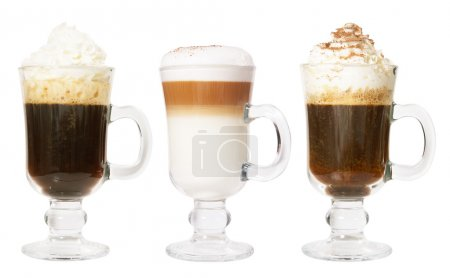 Set of 3 irish coffee