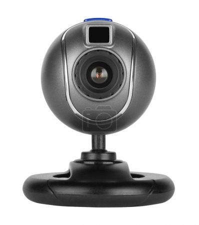 Web camera isolated of white background...