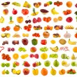 Set from 96 various fruits, vegetables and berries...