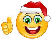 Christmas emoticon