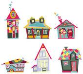 Decorative house set