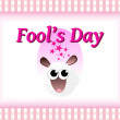 Abstract concept background for fools day celebrat...