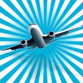 Letadlo na blue ray
