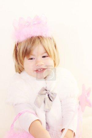 Beautiful little Christmas fairy