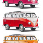 Vectorial icon set of minibus isolated on white ba...