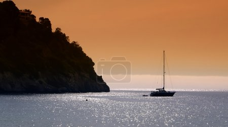 Photo for Views from Ibiza, Mediterranean island in Spain - Royalty Free Image