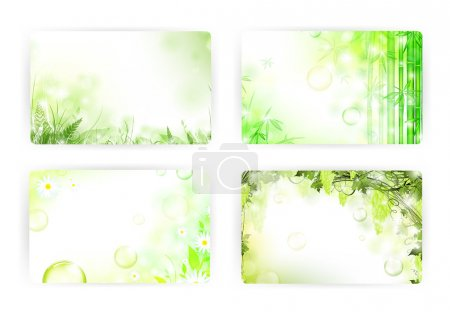 "Photo for Floral gift or credit card templates, size 3 3/8"" x 2 1/8"" (86 x 54 mm) - Royalty Free Image"