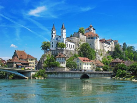 Aarburg castle near Zurich, Switzerland...