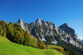 Autumn in swiss alps