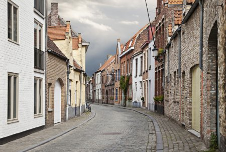 Photo for Cityscape of Bruges streets, Belgium. - Royalty Free Image