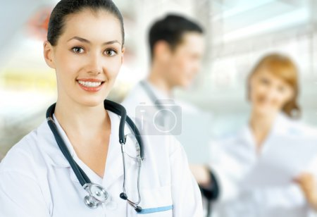 Photo for A team of experienced highly qualified doctors - Royalty Free Image