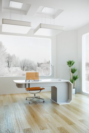 Interior design of modern office