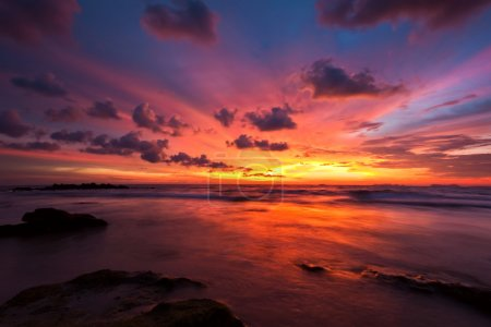 Photo for Beautiful tropical sea sunset. Thailand - Royalty Free Image