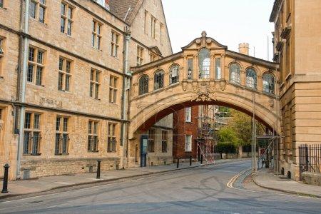 Photo pour Pont des Soupirs. Oxford, Angleterre - image libre de droit