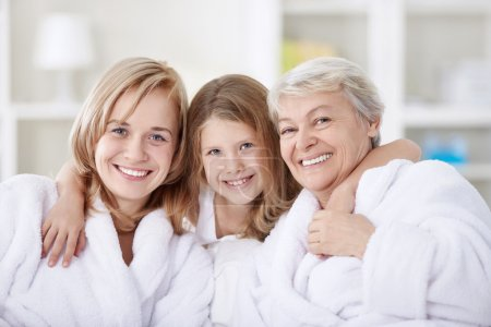 Photo for Three generations of women in the home - Royalty Free Image