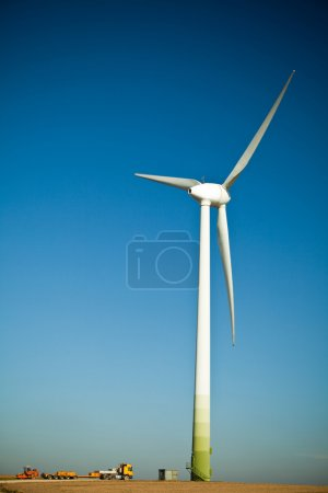 Wind Turbine - alternative and green energy source construction