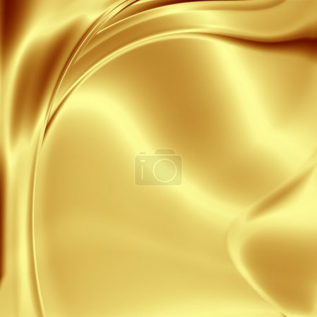 Golden artistic fabric background...