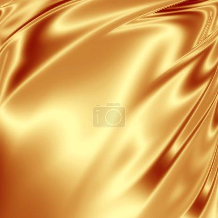 Photo pour Texture artistique dorée pour toile de fond - image libre de droit