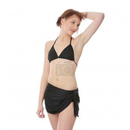 Summer teen girl in bikini