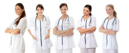 Medical doctors or nurses