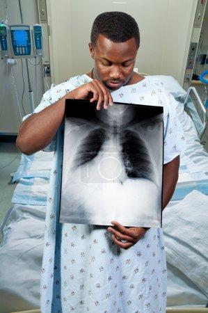 Black Man Patient
