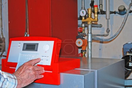 Oil heating
