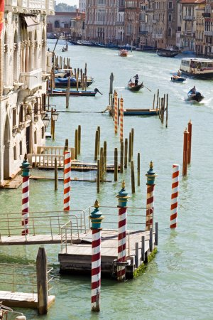 Venice Grand Canal in summer