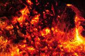 """Постер, картина, фотообои """"Раскаленные угли в расплавленный пожара"""""""