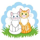 Kočky v lásce
