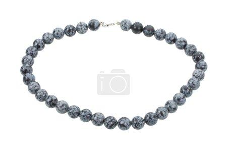Gray beads