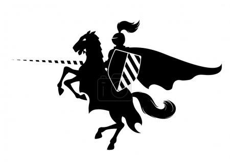 Knight on horse