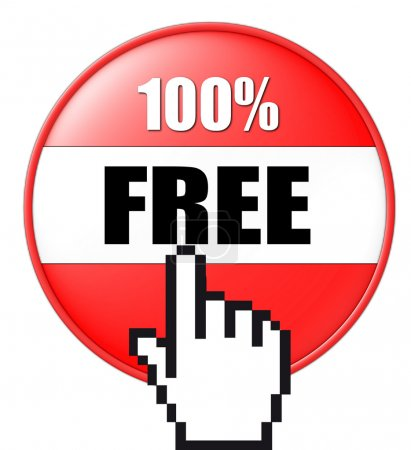 3D button free