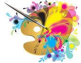 A művész palettáján