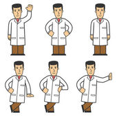 Doctor character set 01