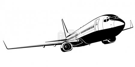 Vector boeing 737
