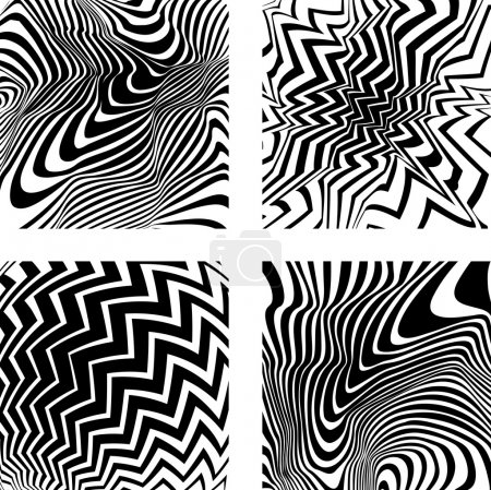 Four optical backgrounds