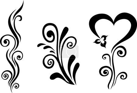 Illustration pour Floral vectoriel - image libre de droit